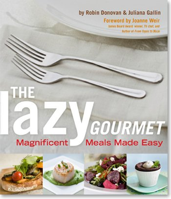 The Lazy Gourmet book cover