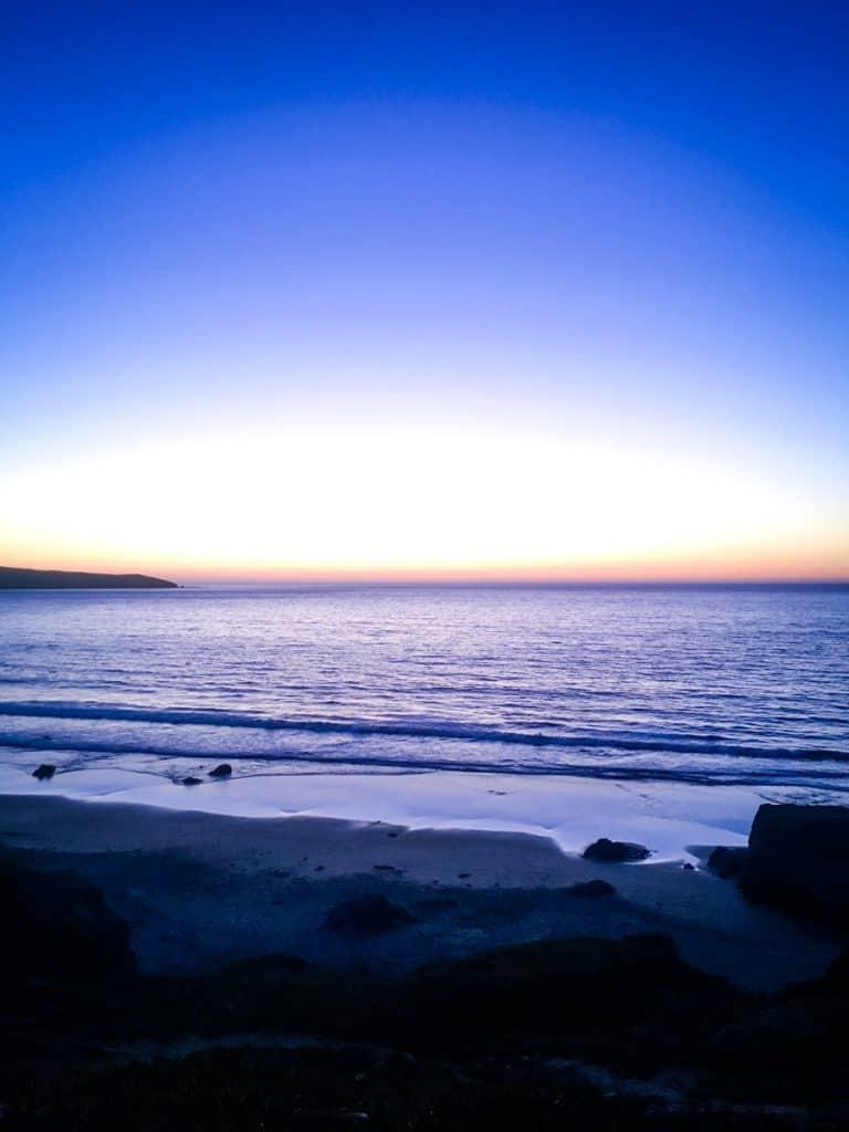 Sunset on Dillon Beach