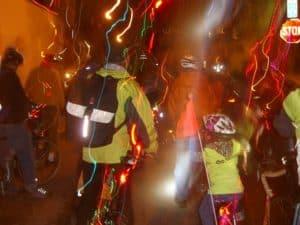 savory strata on the christmas lights ride