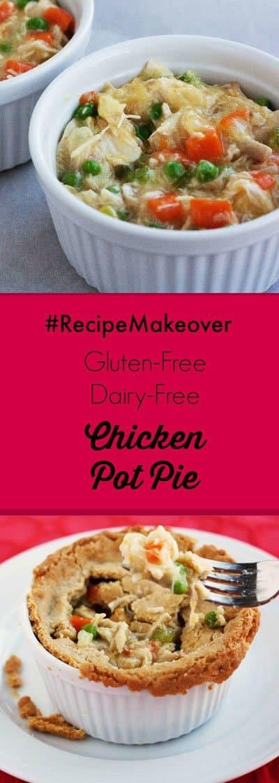 gluten free dairy free chicken pot pie