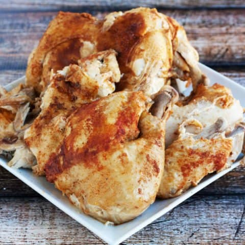 cook a whole chicken in an instant pot