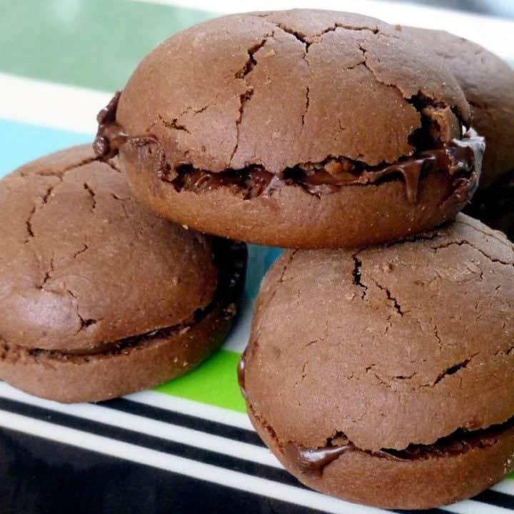 Gianduia Sandwich Cookies