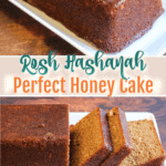 Honey cake for rosh hashana pinterest image