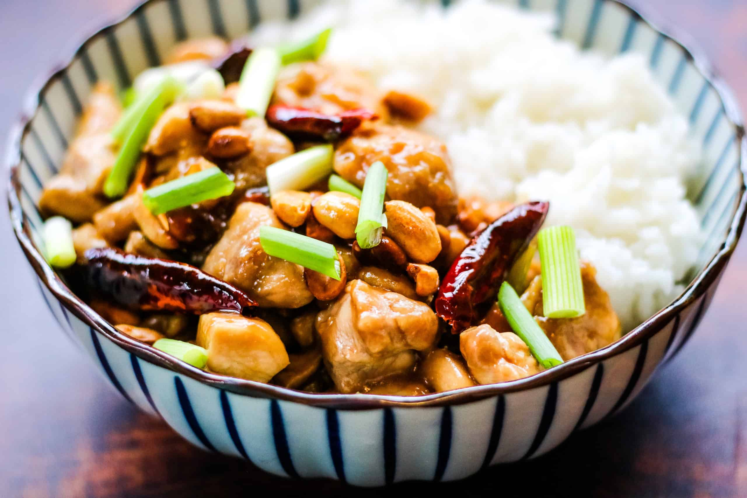 Spicy Sichuan Kung Pao Chicken