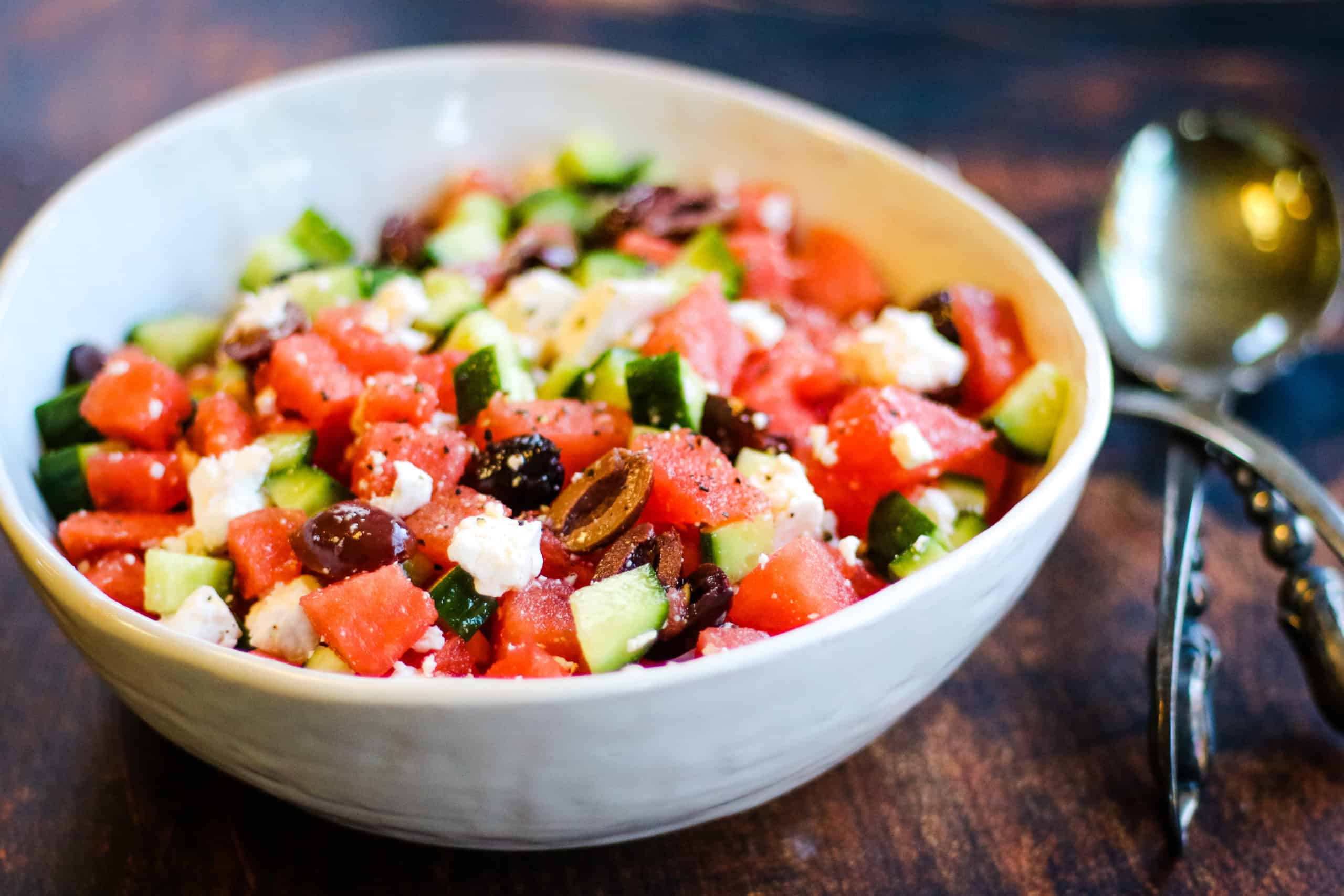 5-Ingredient Watermelon Feta Salad